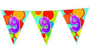 9 jaar feest